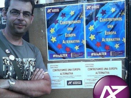 Nuestra candidatura: Ramón García (número 8)