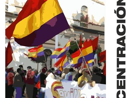 Sevilla: #19J Concentración Un año de la coronación, un año de usurpación ¡República ya!