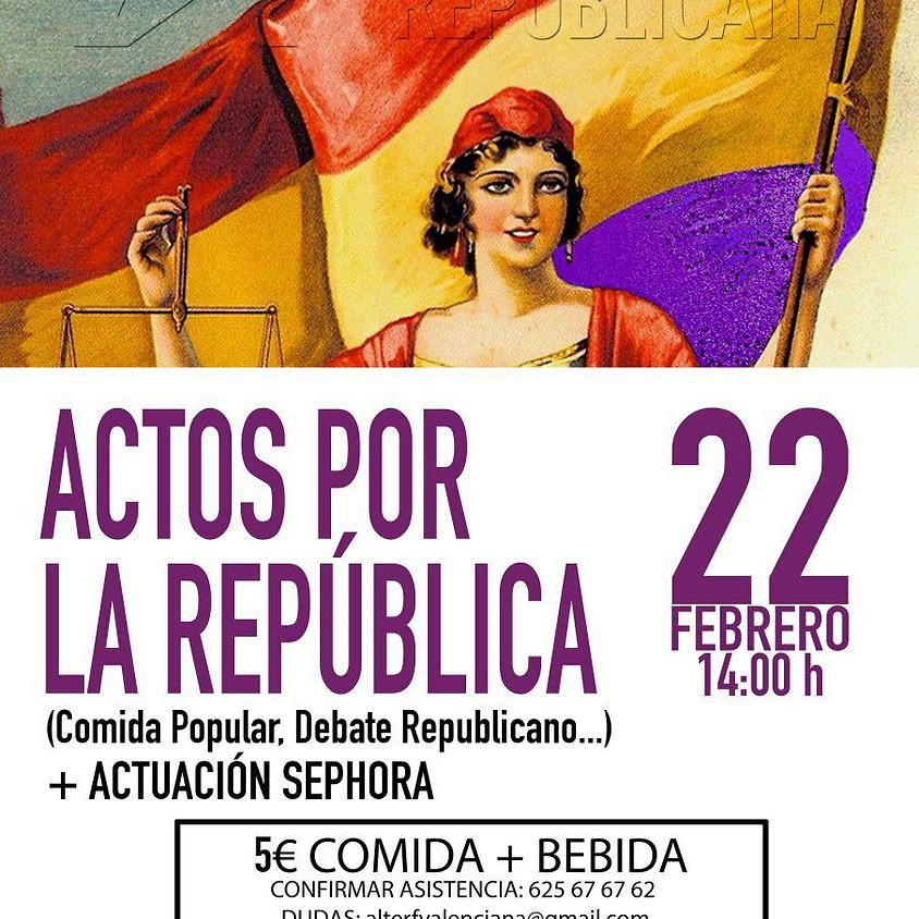 Actos por la República