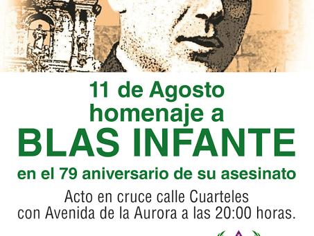 Málaga: Homenaje a Blas Infante