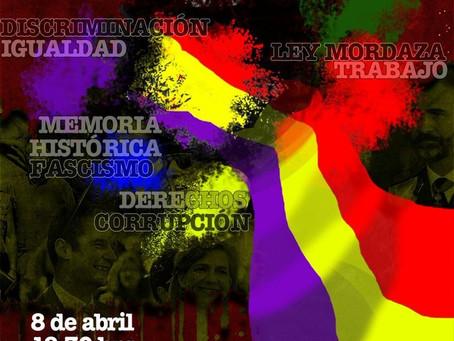 Madrid. Sin ruptura, sin República, no habrá cambio. Por la III República