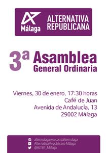 Convocatoria III Asamblea