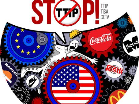 La campaña #NoalTTIP pide la inmediata suspensión de las negociaciones al quedar confirmadas las ame