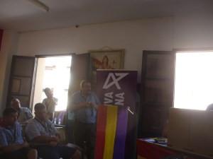 Rafael Luna se dirige a los delegados del I Congreso Federal de ALTER.