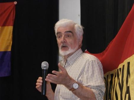 Alfonso Vázquez fue entrevistado en la radio argentina