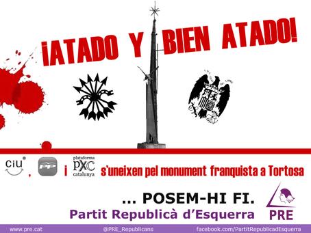 Tortosa: El Partit Republicà d'Esquerra denuncia la connivencia de CIU, PP y PxC para mantener