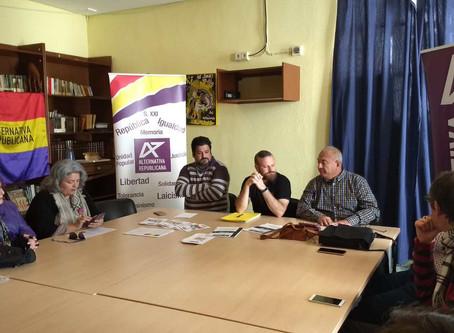 Alternativa Republicana se presentó en Cádiz.