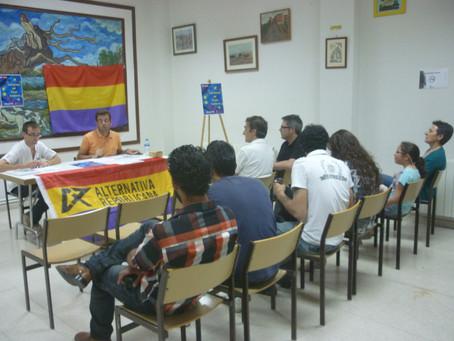 Salamanca: Primer acto electoral de Alternativa Republicana