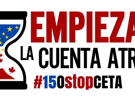 Bratislava: la Unión Europea organiza cumbres, la ciudadanía se moviliza #15OStopCETA