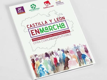 En Marcha Castilla y León: Una candidatura plural, de izquierda e implicada en el territorio.