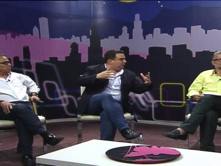 Nicolas Hervas, nuestro concejal en Segorbe, en el debate de Teve4