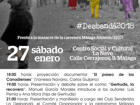 Málaga. Frente a la masacre de la carretera Málaga-Almería, Arte, Justicia y Memoria
