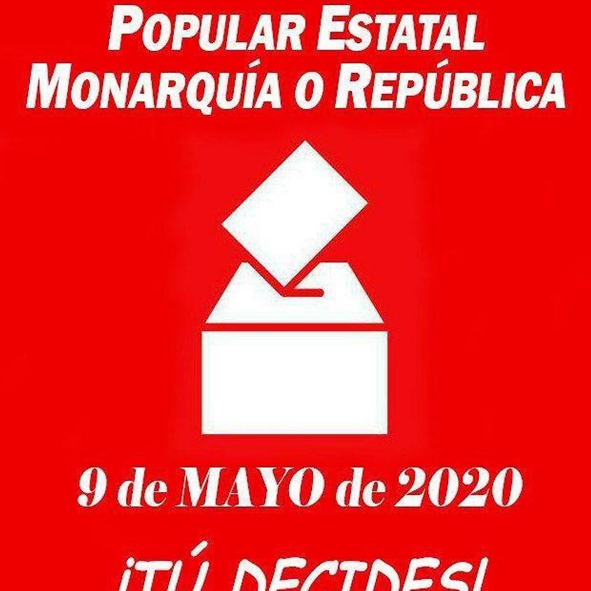 Consulta Popular Estatal Popular Monarquía o República