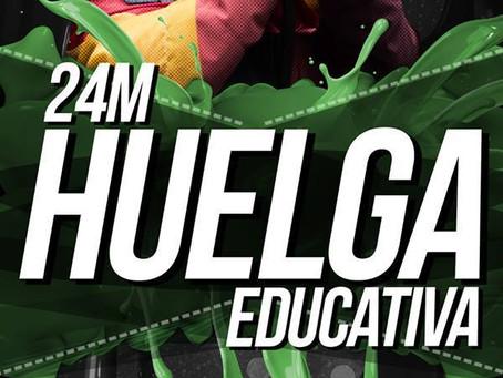 24 de marzo: De nuevo con la educación pública y contra el 3+2