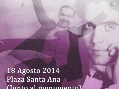 Homenaje a Federico García Lorca en Madrid