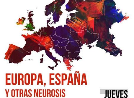 Pedro Garcia Bilbao en el Ateneo de Madrid: Europa, España y otras neurosis.