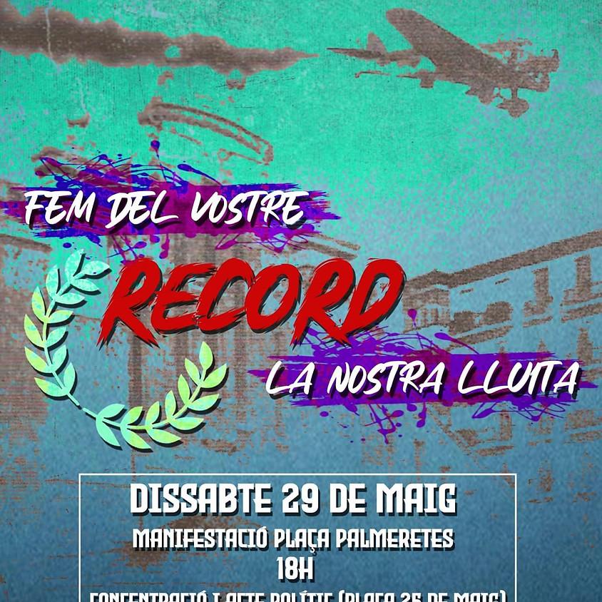 83 Aniversario del bombardeo del Mercado Central de Alicante