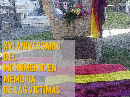 Algeciras: XVI aniversario del monumento en memoria de las víctimas del franquismo
