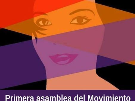 Málaga. Primera asamblea del Movimiento de mujeres por la República
