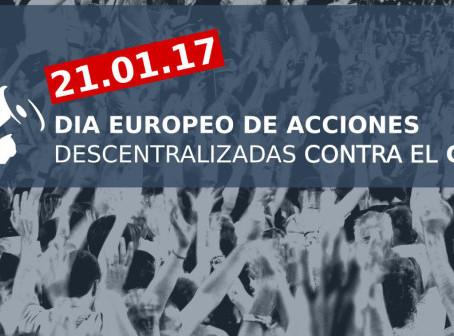 21 de enero: Acciones descentralizadas contra el CETA