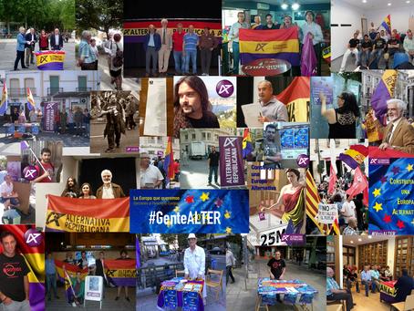 Nuestra candidatura: GRACIAS #genteALTER