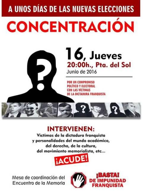 concentracion 16 jun