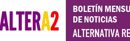 Boletín mensual ALTERA2. Diciembre 2016.