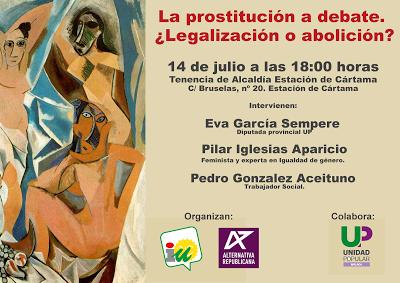 Cártama (Málaga). La prostitución a debate. ¿Legalización o abolición?