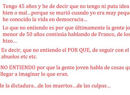 Carta a Frank Cuesta (y a todos los que piensan como él): la memoria histórica se respeta