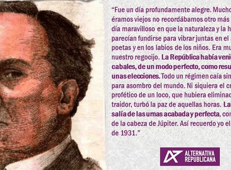 80 aniversario de la muerte de Antonio Machado, poeta y republicano.