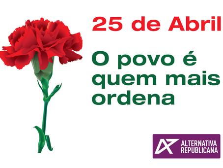 45º aniversario de la Revolución de los Claveles.