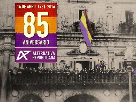 Actos en Salamanca con motivo del 14 de abril