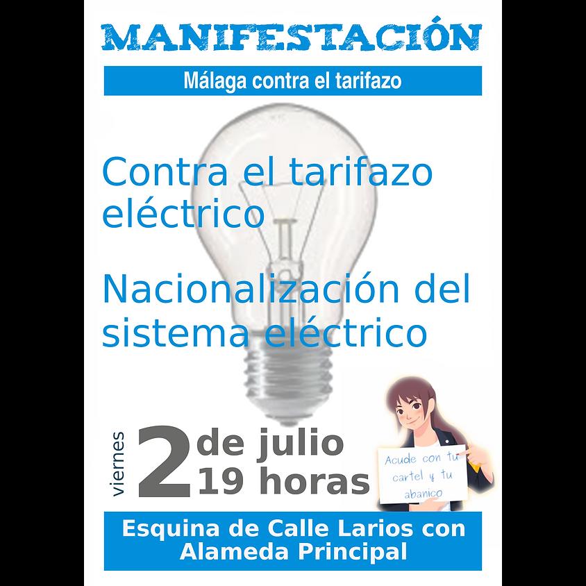 Málaga contra el tarifazo