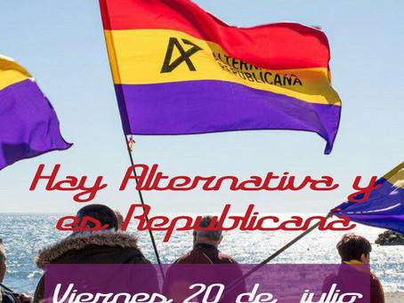 Celebración del quinto aniversario de Alternativa Republicana Málaga
