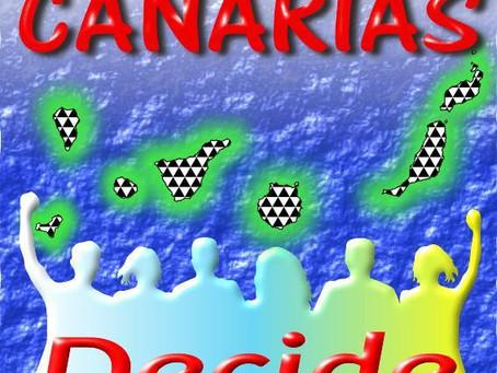 Rueda de prensa de Canarias Decide