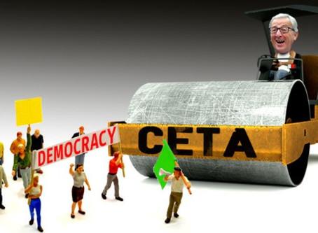La aplicación provisional del CETA es antidemocrática