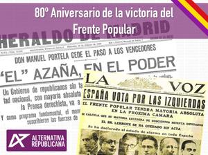 80 aniversario Frente Popular