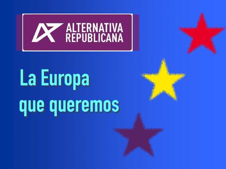 Alternativa Republicana, único partido netamente republicano que presenta candidatura a las europeas