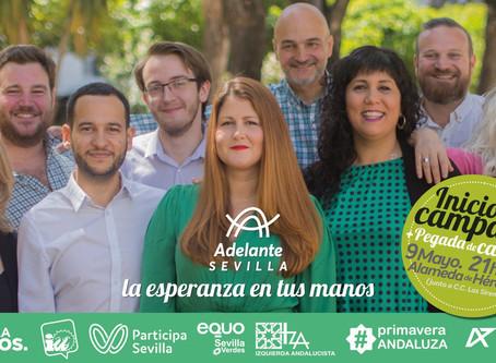 Inicio de la campaña de Adelante Sevilla