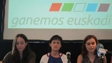 FOTO Europa Press. Zoe Angulo, Secretaria General de ALTER EH a la derecha.