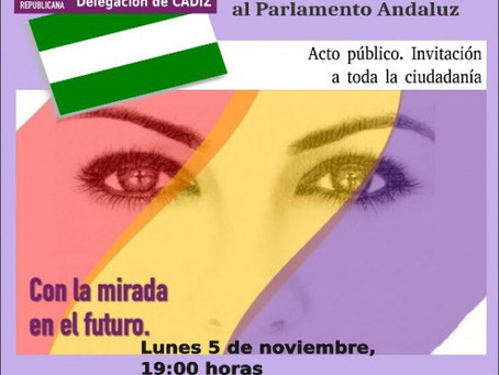 Algeciras: Presentación de la candidatura de Alternativa Republicana por Cádiz a las elecciones anda