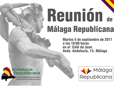 Reunión de la plataforma Málaga Republicana