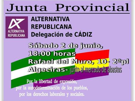 Junta Provincial de Alternativa Republicana Cádiz