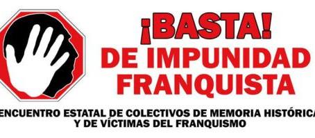 4º Encuentro estatal de colectivos de memoria histórica y de víctimas del franquismo
