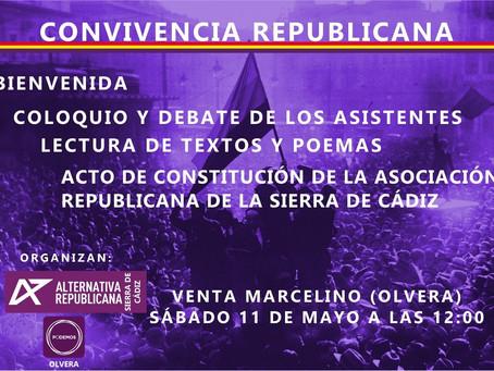 Convivencia Republicana en la Sierra de Cádiz.