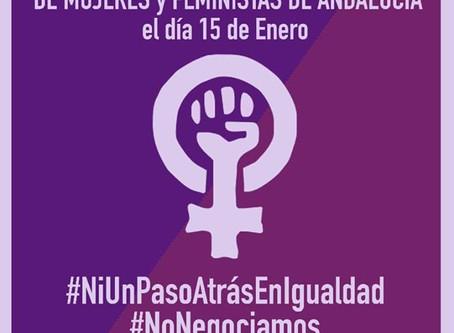 Alternativa Republicana apoya las movilizaciones feministas convocadas por los Colectivos de Mujeres