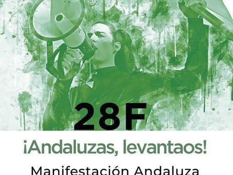28 de febrero: Llamamiento a la Manifestación Andaluza.