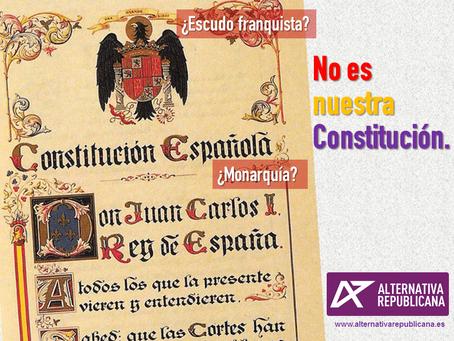 40 años después, no es nuestra Constitución.