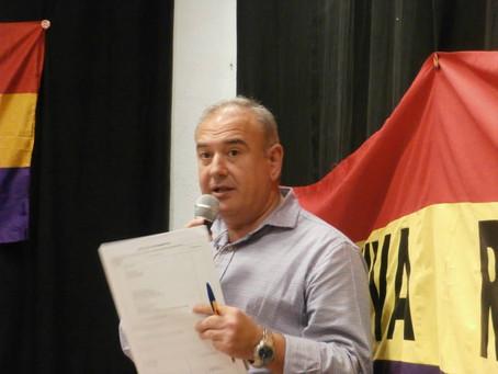Nuestra candidatura: Antonio Francisco Fernández Lima (número 51)