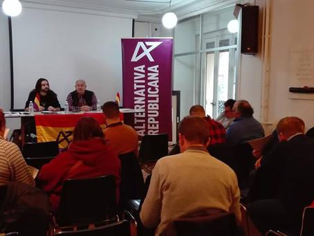 Congreso extraordinario y Comité Político de Alternativa Republicana en Madrid.